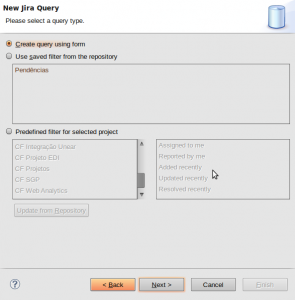 Edit Repository Query
