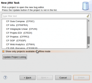 New JIRA Task