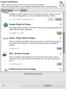 Eclipse Marketplace