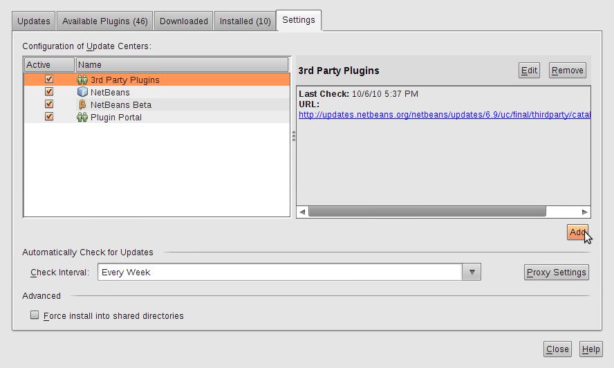 Client JAX-RPC no Netbeans 6.9 | Thiago Galbiatti Vespa Javadoc Netbeans