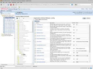 System MBean Browser - Oracle Enterprise Manager (weblogic)