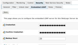 Embedded LDAP