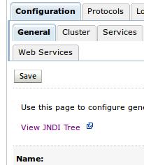 View JNDI Tree