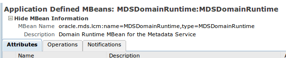 MDSDomainRuntime