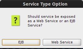 Service Type Option